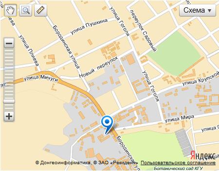 Схема проезда в г.Краснодар